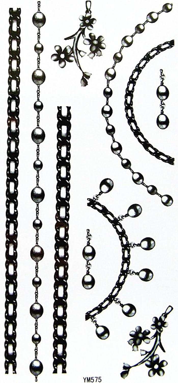 YiMei YiMei YiMei Heißer Verkauf charmanten wasserdicht Tattoo-Aufkleber schwarz Schmuck Halsketten Armbänder B007QX6H4M | Haltbarkeit  c848f5