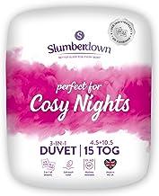 Slumberdown Cosy Nights Dekbed voor kingsize bed, 4,5 tog plus kingsize dekbed, 10,5 tog, 3-in-1 combinatie, 15 tog, voor ...