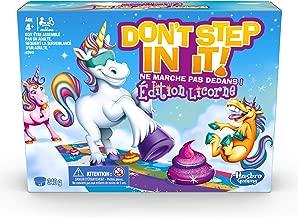 Exclusivit/é Multicolour GAMES- Dont Step in It Unicorn Poop Edition E2645UC3