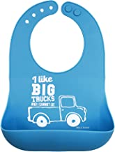 Bella Tunno Wonder Bib, Big Trucks