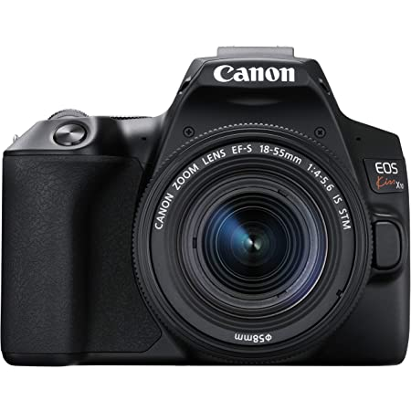 Canon デジタル一眼レフカメラ EOS Kiss X10 標準ズームキット ブラック KISSX10BK-1855ISSTMLK
