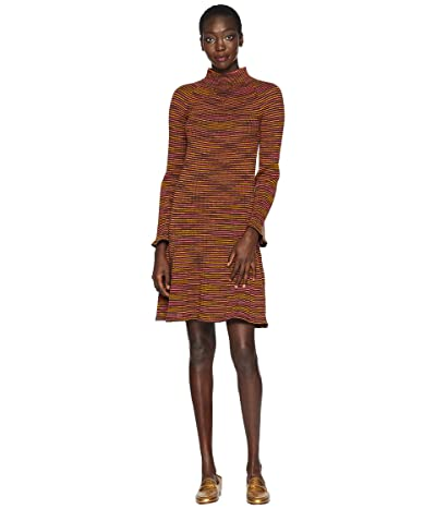 M Missoni Chunky Spacedye Long Sleeve Dress (Brown) Women