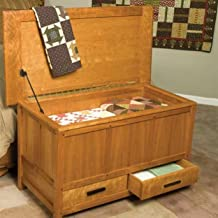 Woodworking Project Paper Plan to Build Arts & Crafts Blanket Chest