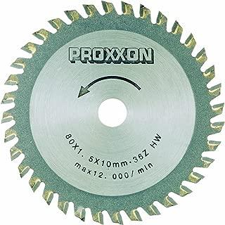 Proxxon 28732 3-9/64-Inch 80mm Carbide Tipped Saw Blade 36-Teeth