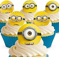 Brilliant Amazon Co Uk Minion Cake Toppers Funny Birthday Cards Online Aeocydamsfinfo