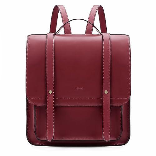 a3318990054 Leather Satchel Backpack: Amazon.co.uk