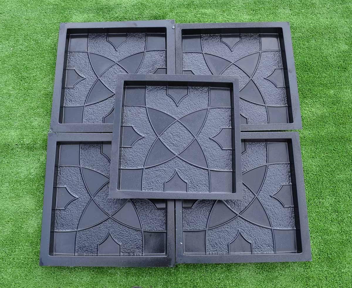 Recommendation Betonex NEW before selling 5pcs PLASTIK MOLDS Casting Garden Paths Paving Concrete