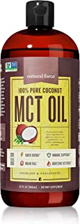 Best Value Premium MCT Oil 32 Ounce, 100% Pure Made from Non-GMO Verified Coconuts - *Best MCT Oil for Weight Loss and Bra...