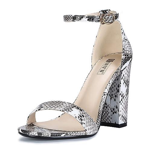 927068c884f Snake Skin Heels: Amazon.com