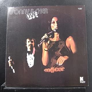 Sonny & Cher - Sonny & Cher Live - Lp Vinyl Record