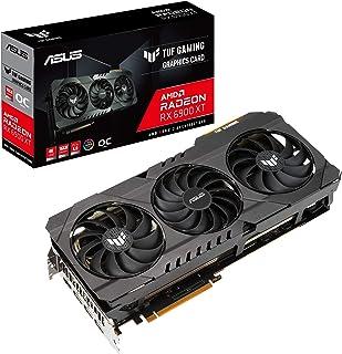 ASUS TUF Gaming AMD Radeon RX 6900 XT OC Edition Graphics Card (PCIe 4.0, 16GB GDDR6, HDMI 2.1, DisplayPort 1.4a, Dual Bal...