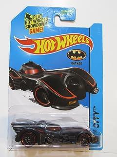 2015 Hot Wheels Batman Hw City - Batmobile