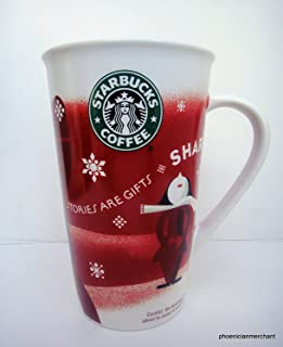 Starbucks 2010 Christmas Stories Are Gifts Share Nouvelle Porcelain Coffee Tea Mug