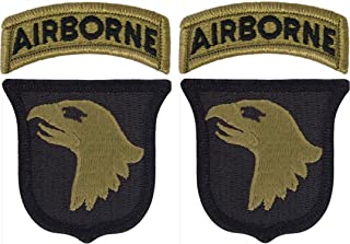 101st Airborne Division OCP Patch with Airborne Tab - Scorpion W2 - 2 PACK