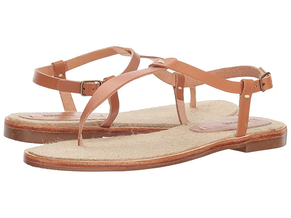 Soludos Classic Leather Thong Sandal (Nude) Women