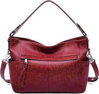 Best matilda large embossed leather shoulder bag Reviews