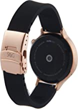 SnuG watchbands Women's Moto 360 16mm Replacement Watch Band for 2nd Gen Moto360 Quick Release with Rose Gold Deployment B...