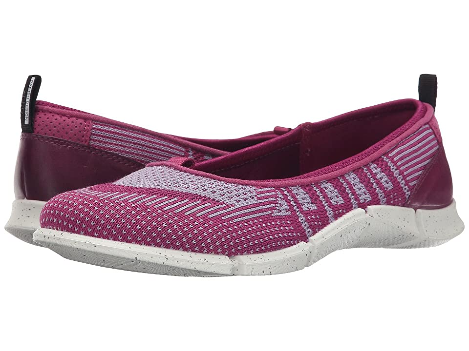 ECCO Sport Intrinsic Karma Flat (Fuchsia/Purple/Fuchsia) Women