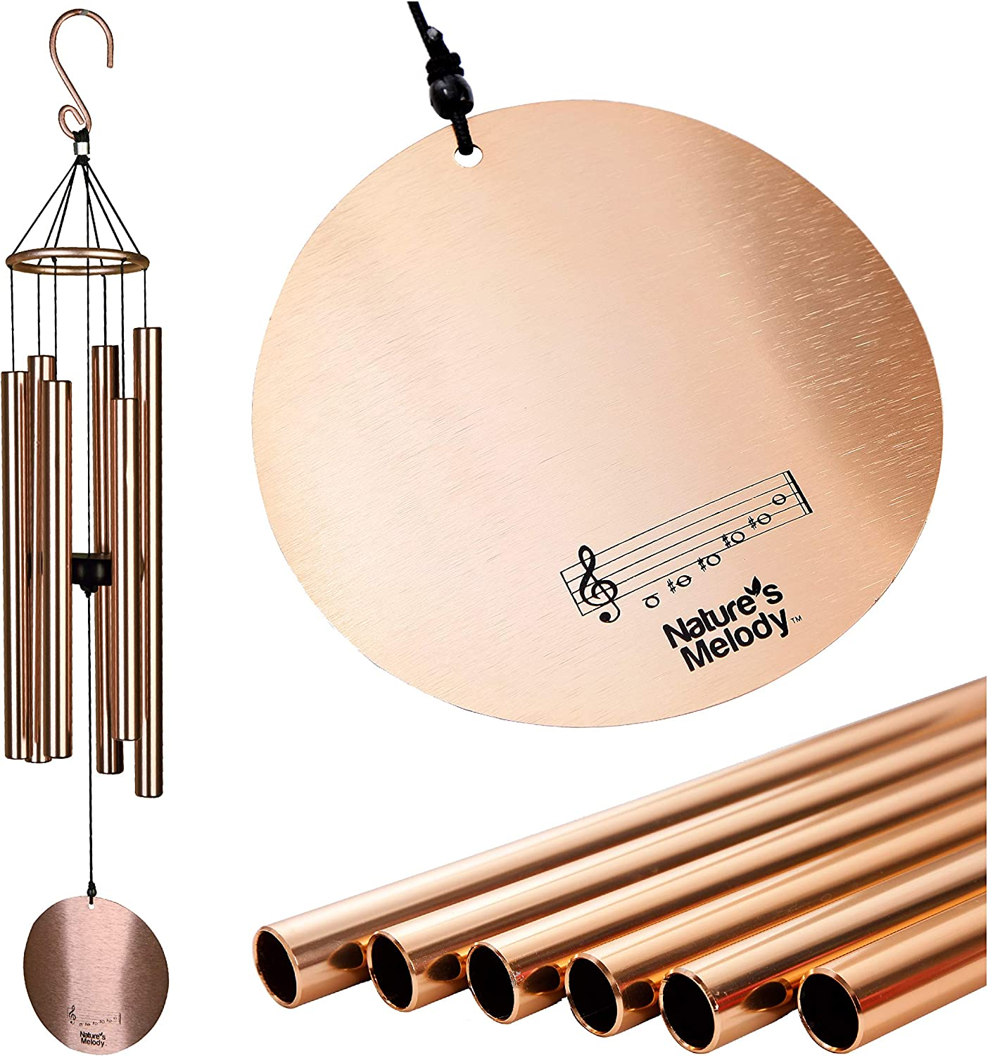 Nature's Melody National uniform free shipping Aureole Tunes Wind Outdoor Wi specialty shop – Chimes