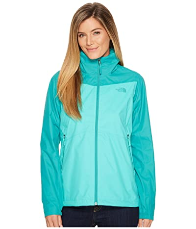 The North Face Resolve Plus Jacket (Pool Green/Porcelain Green) Women