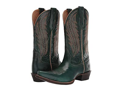 Ariat Tailgate (Peacock Blue) Cowboy Boots