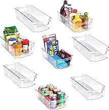 Drawer Bins Kunststoff K/ühlschrank Regal K/ühlschrank Halter Aufbewahrungsbox 20,5x16,4x7,6cm EXQUILEG 3 St/ück K/ühlschrank Organizer Box