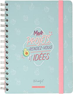 Mr. Wonderful 2020-2021 My Projects Classic Weekly Planner 160 Pages 17 x 22.1 x 2.6 cm
