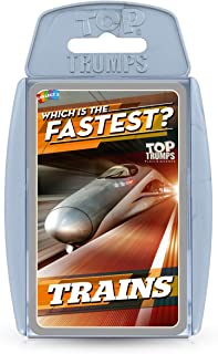 Top Trumps Which is The Fastest Train Card Game