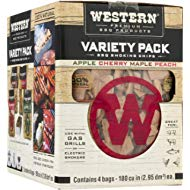 Western Premium BBQ Products BBQ... Western Premium BBQ Products BBQ Smoking Chips Variety Pack, 4 Pack