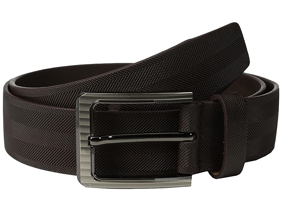 Stacy Adams - Stacy Adams 38mm Full Gain Leather with Herringbone Design