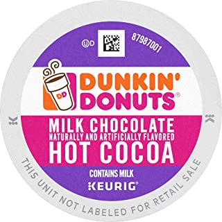 Dunkin' Donuts Hot Cocoa, K Cups for Keurig Brewers, 88Count