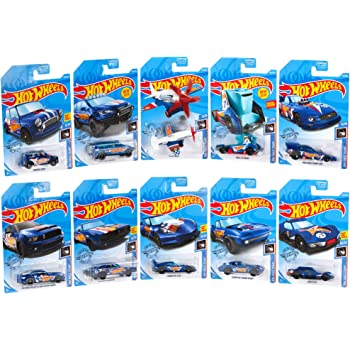 Hot Wheels Race Team Collection 10-Pack [Amazon Exclusive]