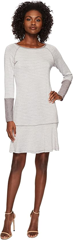 American Rose - Danica Drop-Waist Long Sleeve Dress