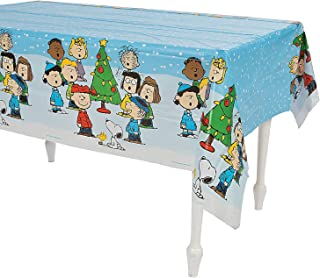 Peanuts Christmas Table Cover Tablecloth