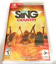 Let's Sing Country- Nintendo Switch