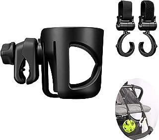 Universal Stroller Cup Holder, Universal Stroller Organizer Baby Bottle Holder - Stroller Accessory, Parent Cup Holder for...