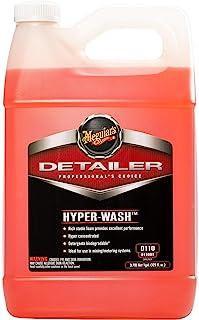 Meguiar's Hyper-Wash – Foaming Car Wash Lifts Off Dirt and Leaves a Rich Shine – D11001, 1 gal