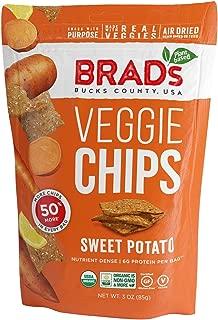 Brad's Plant Based Organic Veggie Chips, Sweet Potato, 3 Count