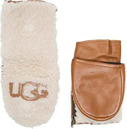 UGG - Curly Pile Flip Mitten