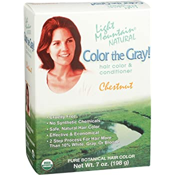 Light Mountain Natural 2 Piece Natural Color The Gray!, Chestnut