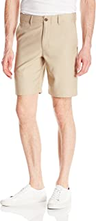 Men's In Motion Melange Flat Front Slim Fit Active Short