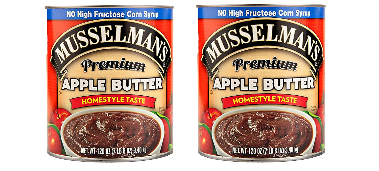 Musselman's Premium Apple Butter TWO oz. Max 70% OFF 120 #10 Cans Max 62% OFF