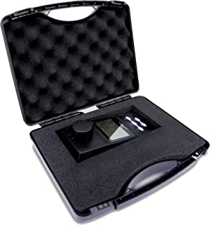 VTSYIQI Portable Turbidimeter Turbidity Meter Tester Analyzer 0 to 1100NTU Measurement USB Data 2 to 5 Points Calibration Selectable 4 Turbidity Units NTU FNU EBC and ASBC 100 Data Sets Storage