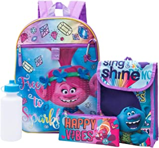Best trolls 5 piece backpack set with lunch bag Reviews
