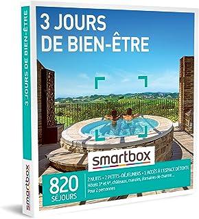 SMARTBOX - Coffret Cadeau Couple - Idée cadeau original : Séjour 3 jours de bien-être et spa à deux, weekend de relaxation...