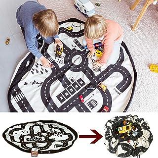 Yartar 収納袋 おもちゃ収納 プレイマット ベビージム ストーレジバッグ 片づけらくらく 柔らか ロードマップ