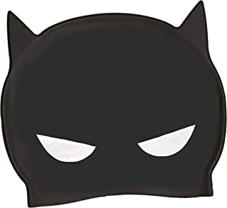 Zoggs Gorro de natación, Juventud Unisex, Batman, (hasta 14 Años)