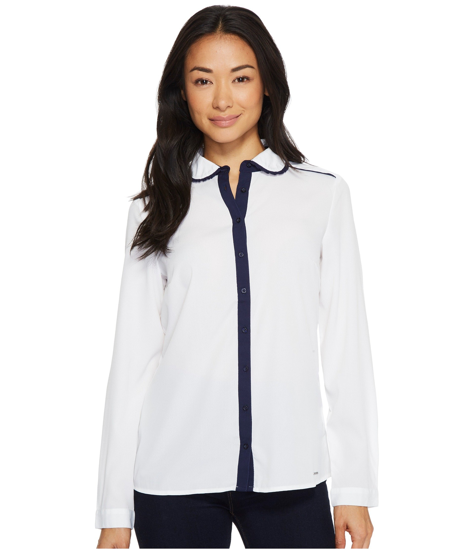 Blusa para Mujer U.S. POLO ASSN. Crepe de Chine Blouse  + U.S. POLO ASSN. en VeoyCompro.net