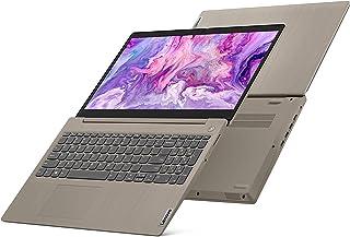 Lenovo IdeaPad 3 Portátil de 15,6 pulgadas, procesador Intel Core i3-1005G1 de doble núcleo, memoria de 4 GB, unidad de es...