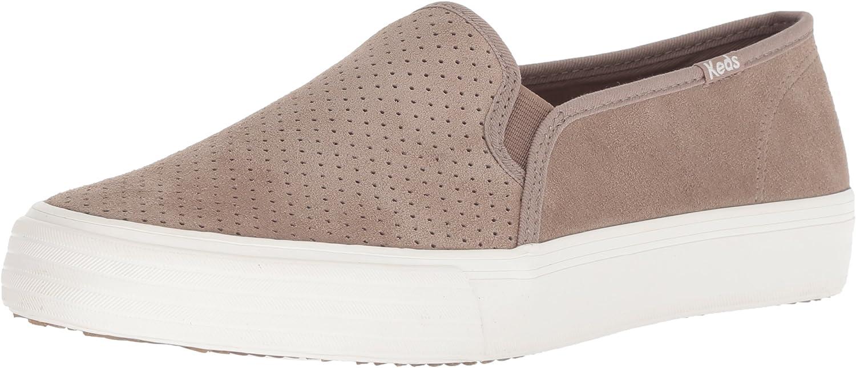 Keds Women's Double Decker Perf Suede Sneakers